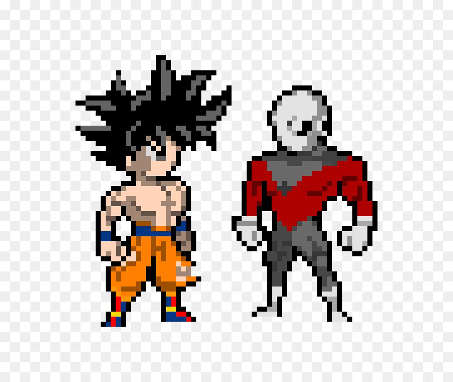 Descarga gratuita de Goku, Pixel Art De Color Por El Número De Juego, Vegeta Imágen de Png