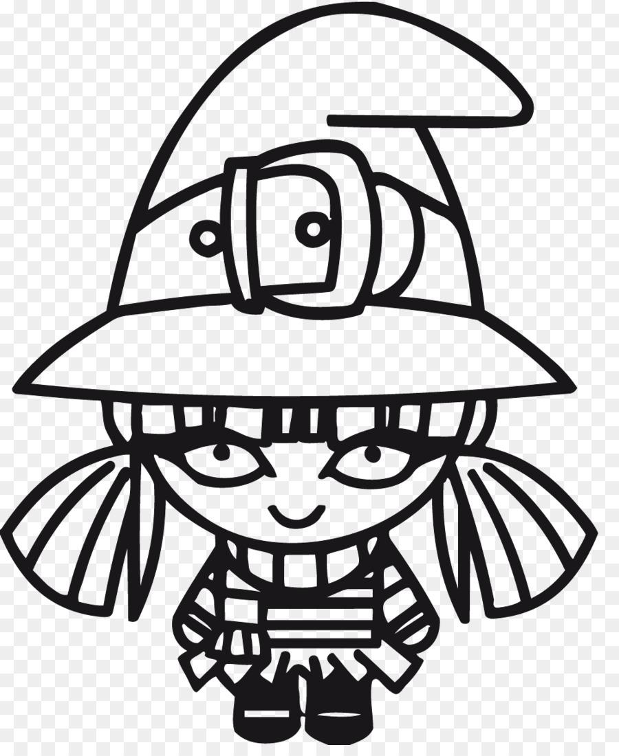 Descarga gratuita de Bruja, Dibujo, Feliz Halloween Imágen de Png