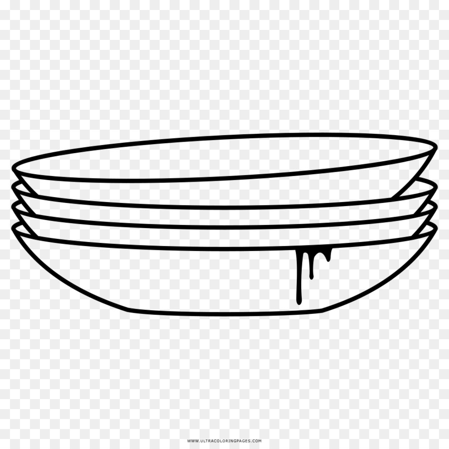Libro Para Colorear Plato Dibujo Imagen Png Imagen