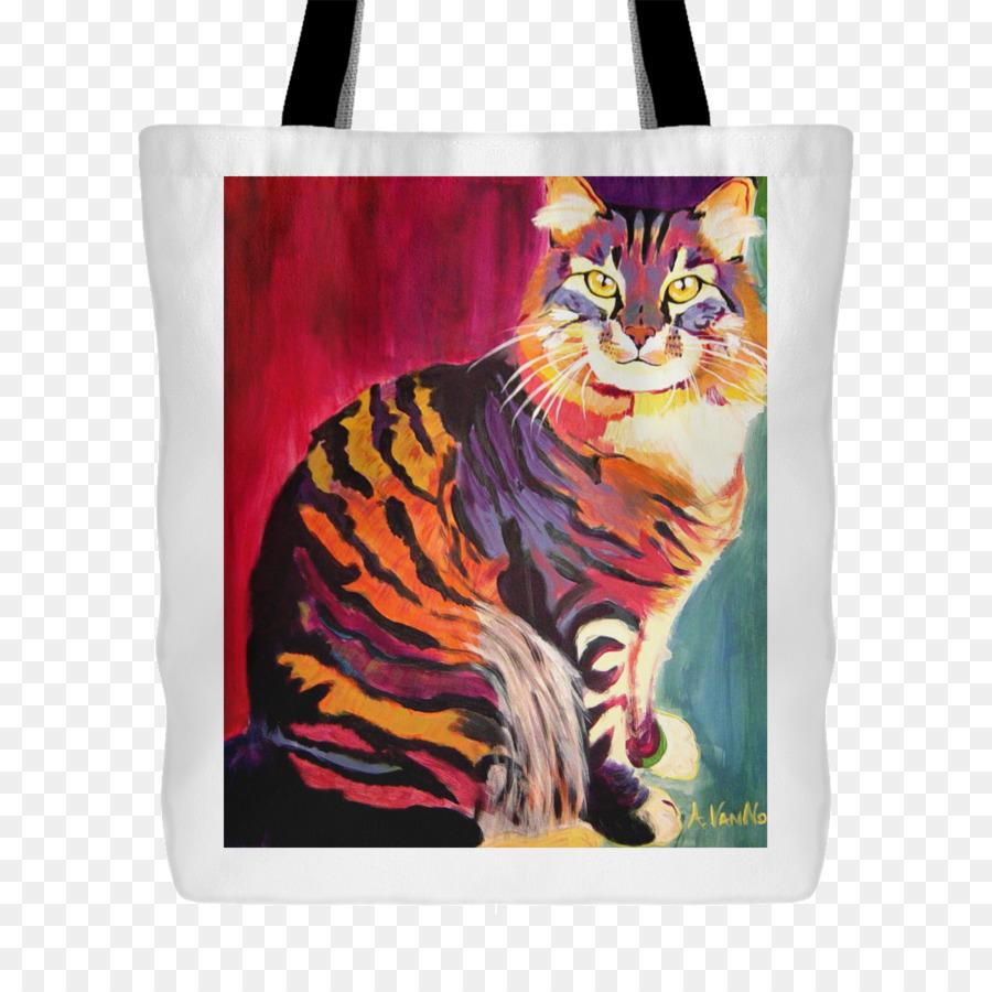Descarga gratuita de Gato, Retrato, Pintura Imágen de Png
