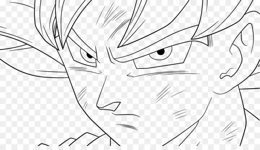 Goku Vegeta Arte De Línea Imagen Png Imagen Transparente
