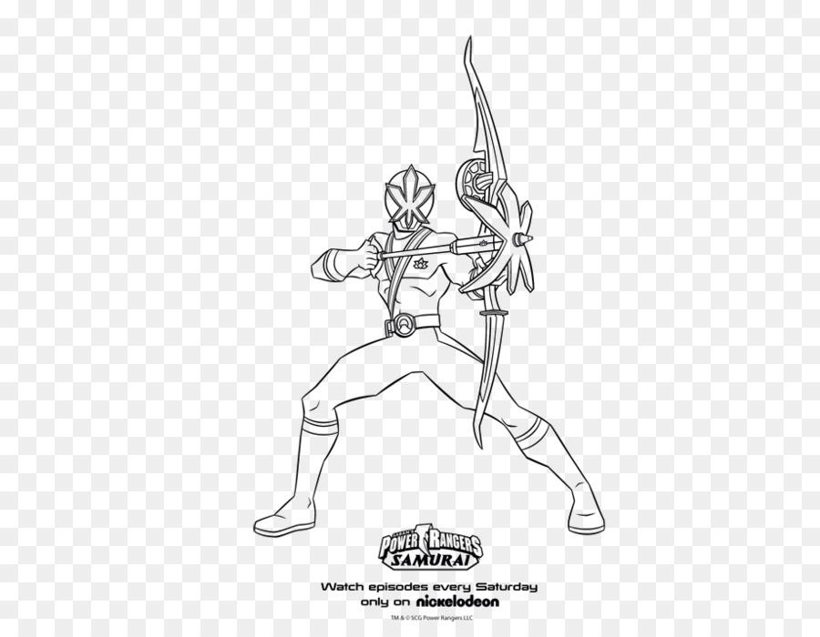 Power Rangers Samurai Billy Cranston libro para Colorear de Power ...