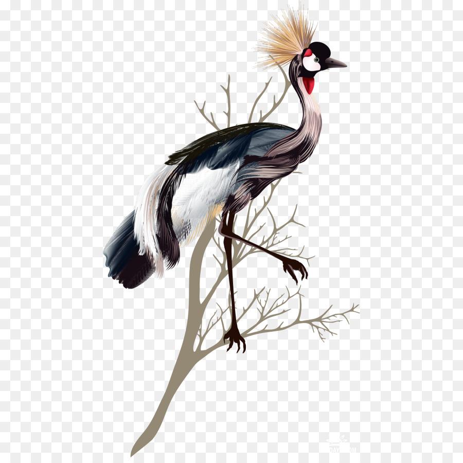 Descarga gratuita de Grúa, Aves, Pluma Imágen de Png