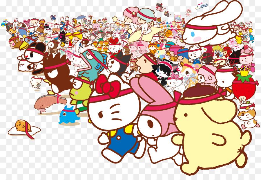 Descarga gratuita de Hello Kitty, Sanrio Puroland, Mi Melodía Imágen de Png