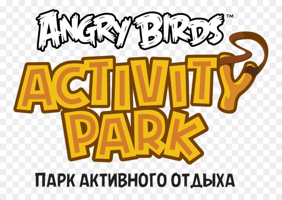 Descarga gratuita de Angry Birds Parque De Actividades, Logotipo, Angry Birds imágenes PNG