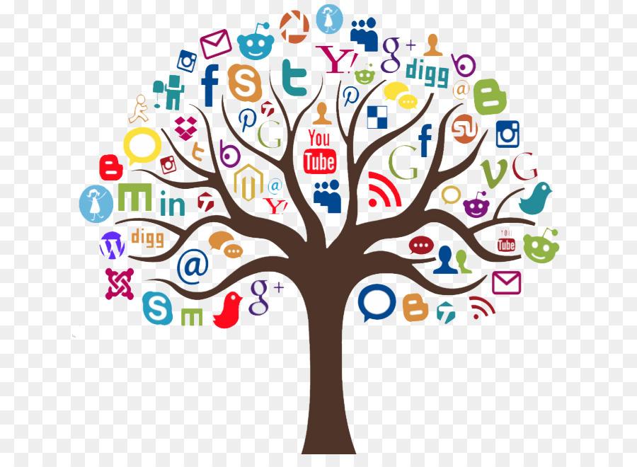 Descarga gratuita de Medios De Comunicación Social, Social Media Marketing, El Marketing Digital Imágen de Png