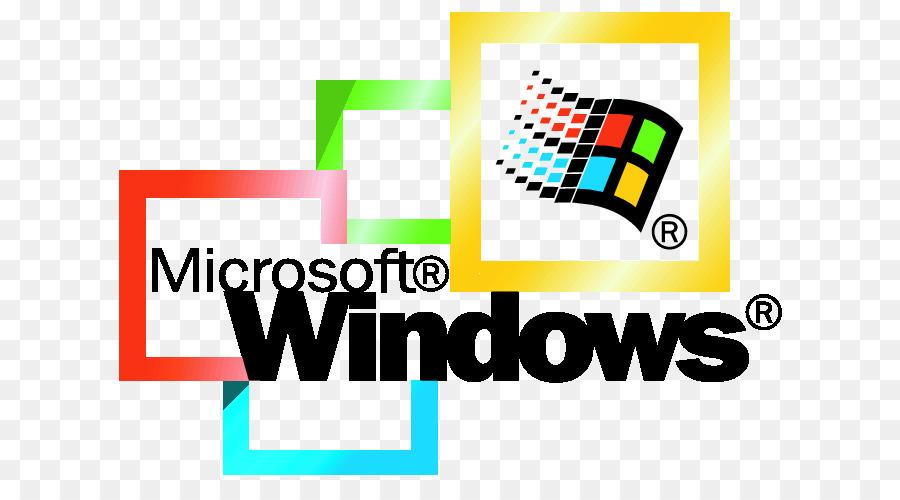 Logotipo, Marca, Windows 95 imagen png - imagen transparente