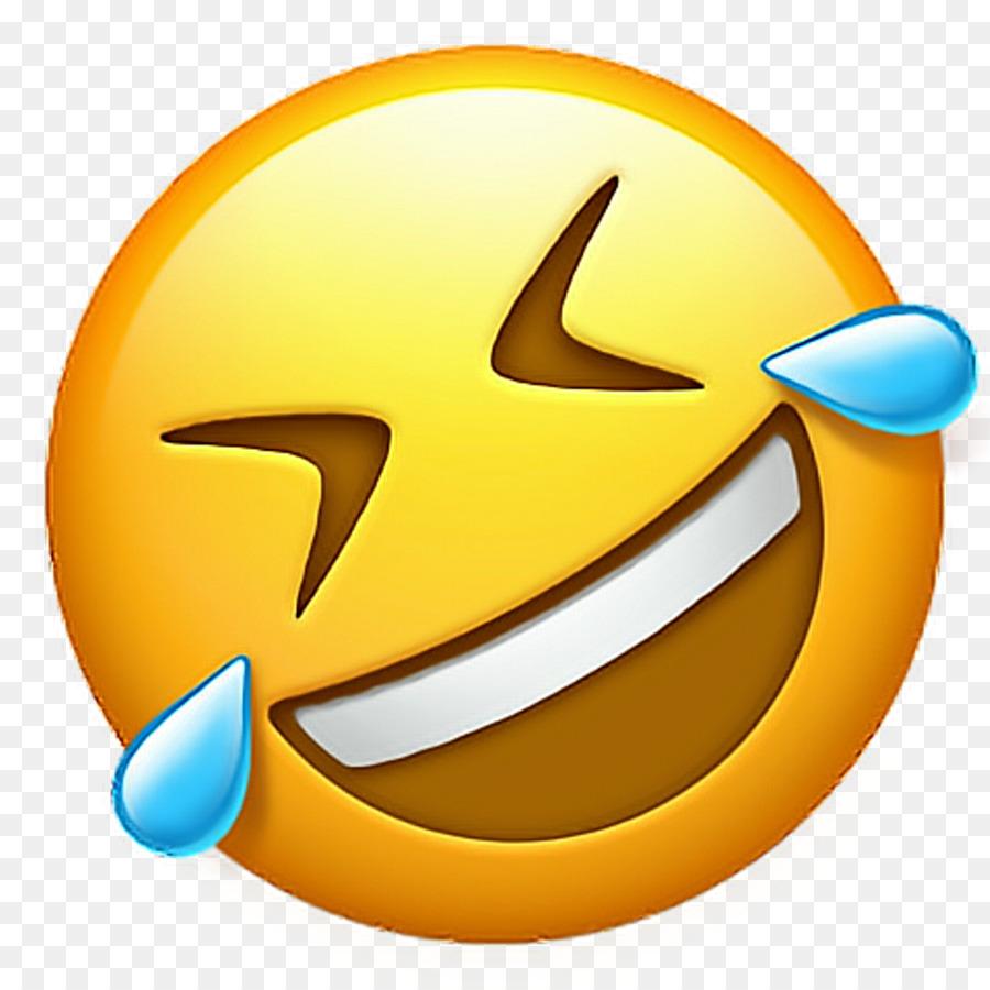 Descarga gratuita de Cara Con Lágrimas De Alegría Emoji, Emoji, La Risa Imágen de Png