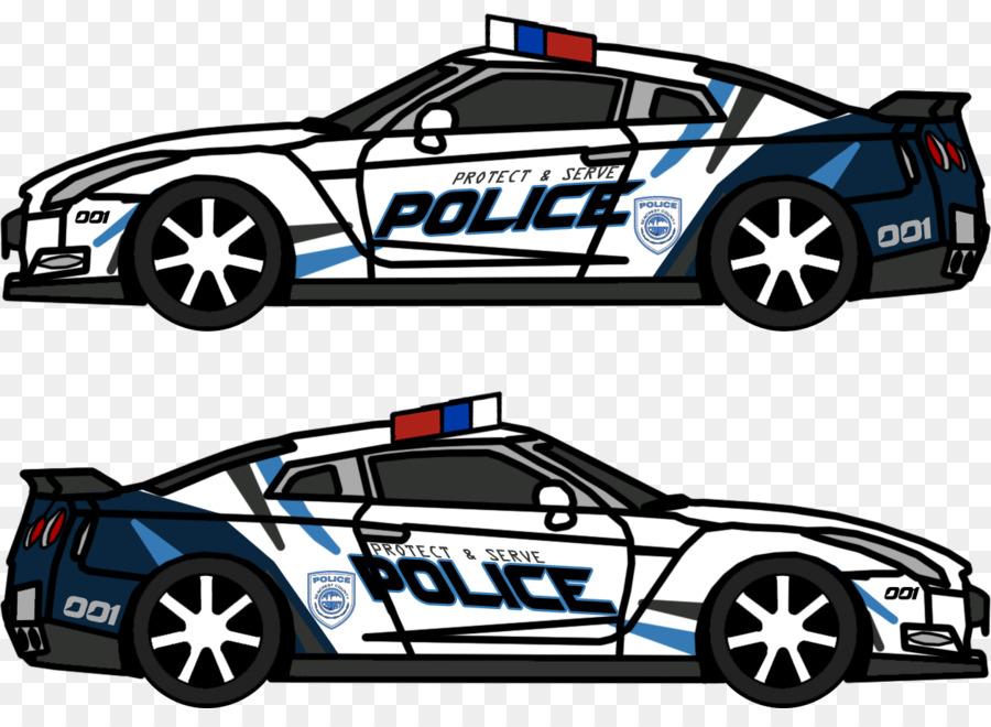 Descarga gratuita de El Coche De La Policía, Coche, Nissan imágenes PNG