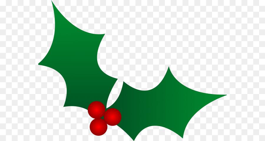 Descarga gratuita de Clip Art De Navidad, Común Holly, Christmas Day Imágen de Png