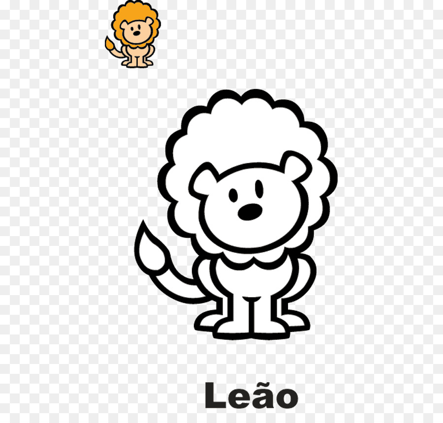 Dibujo Libro Para Colorear León Imagen Png Imagen Transparente