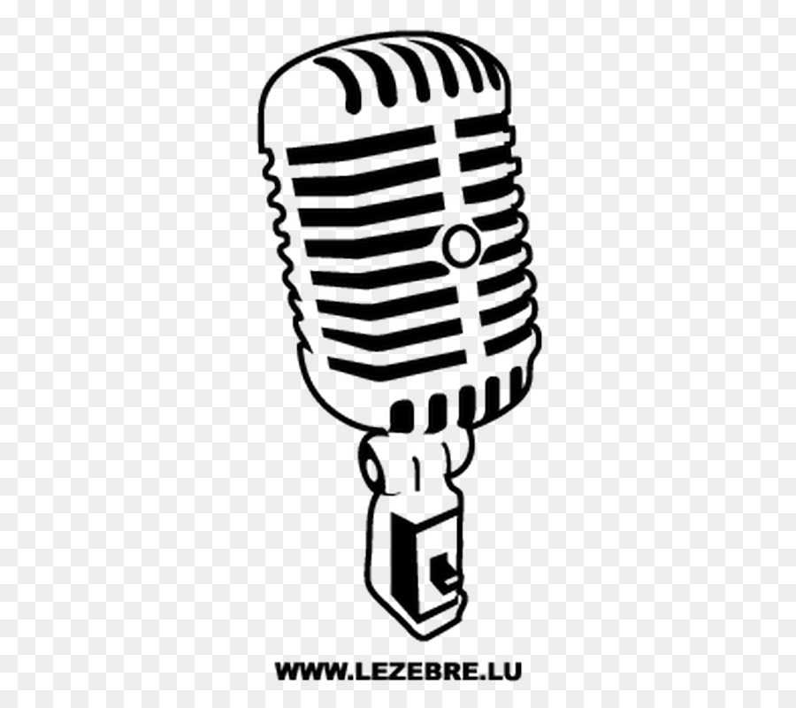 Micrófono Dibujo La Señal De Audio Imagen Png Imagen