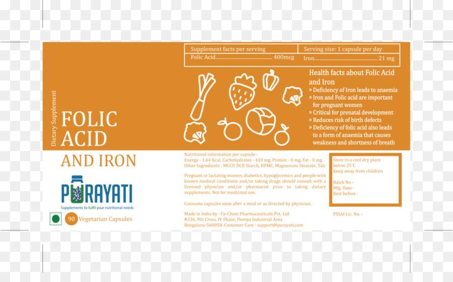 Descarga gratuita de Suplemento Dietético, Folato, La Vitamina Imágen de Png