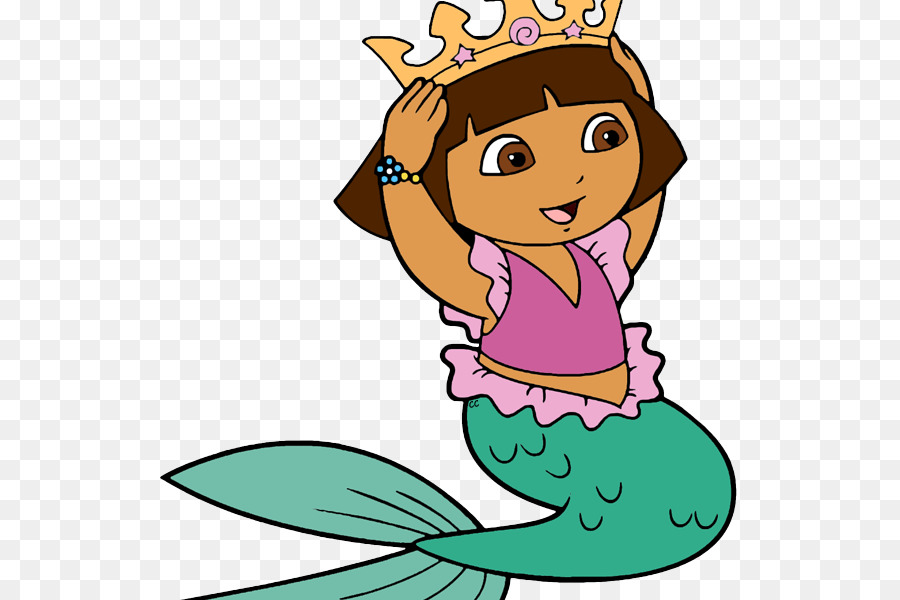 La Sirena Mala Dora La Exploradora Sirena Imagen Png