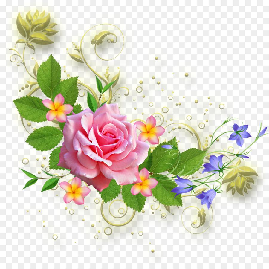 Descarga gratuita de Diseños Florales, Diseño Floral, Bordes Y Marcos imágenes PNG
