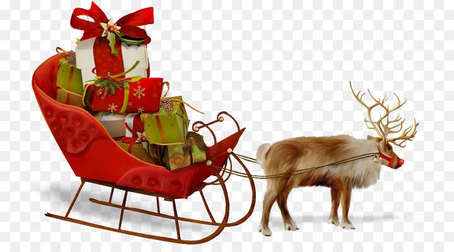 Descarga gratuita de Santa Claus, Trineo, Christmas Day Imágen de Png