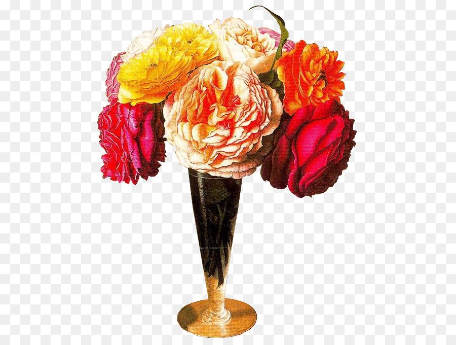 Descarga gratuita de Las Rosas De Jardín, Rosa Montón, Jarrón Con Flores Imágen de Png