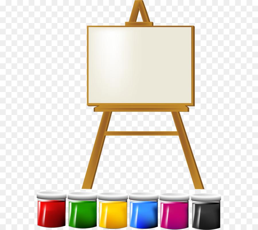 Descarga gratuita de Caballete, Pintura, Dibujo imágenes PNG