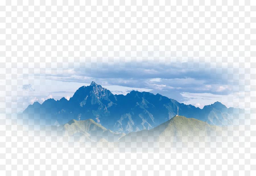 Descarga gratuita de Acuarela Paisaje, Shan Shui, La Pintura China imágenes PNG