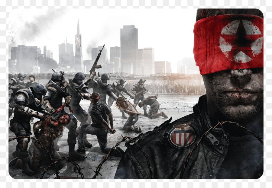 Descarga gratuita de Homefront, Homefront La Revolución, Xbox 360 Imágen de Png