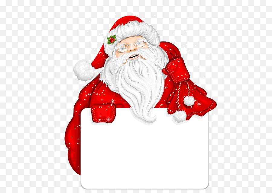 Descarga gratuita de Santa Claus, Christmas Day, Bordes Y Marcos imágenes PNG