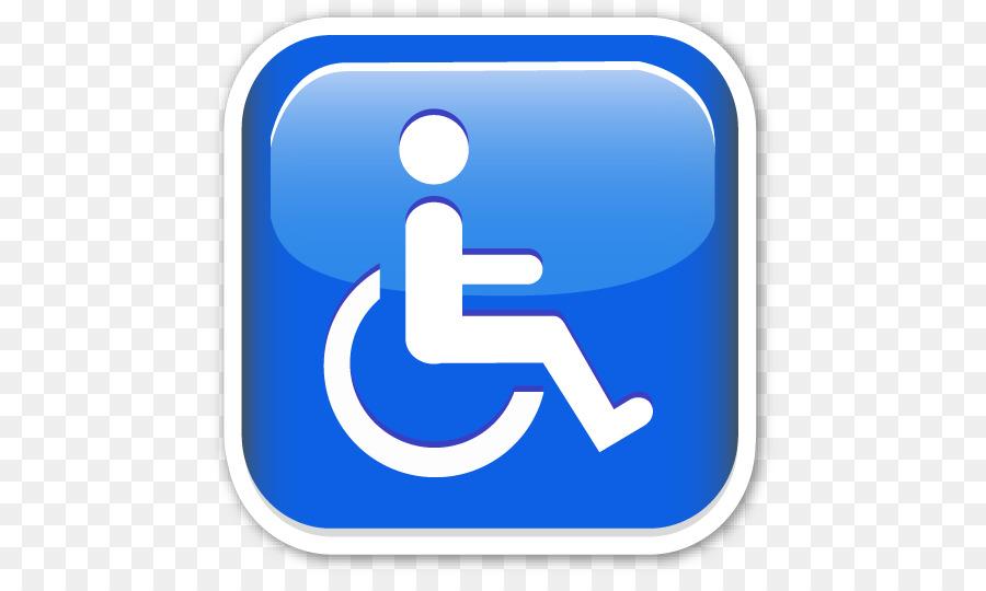 emoticon silla de ruedas png