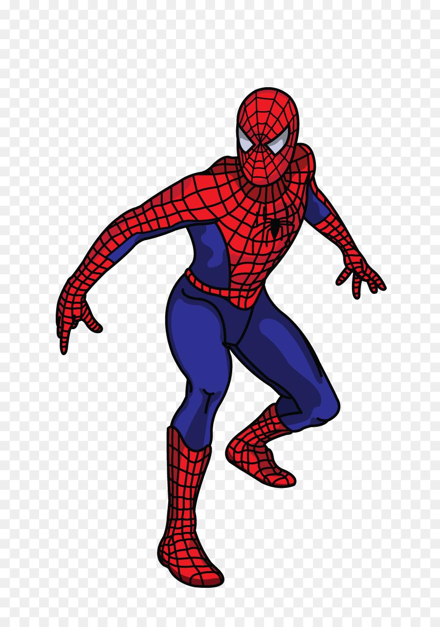 Descarga gratuita de spiderman dibujo tutorial imágenes png