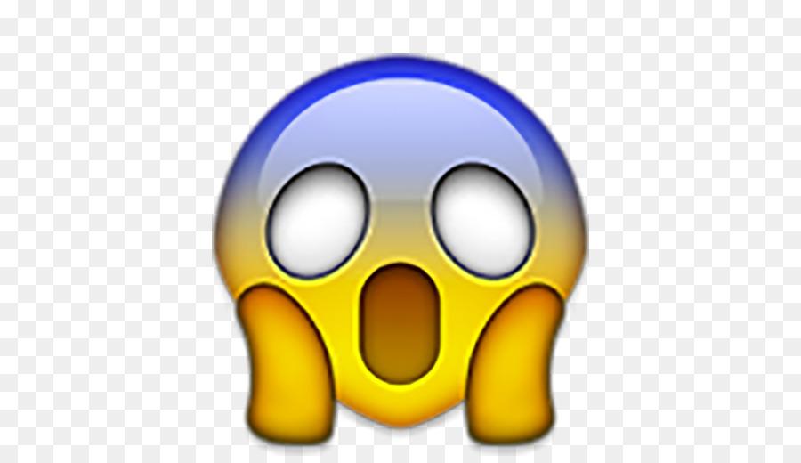Descarga gratuita de Emoji, Gritando, El Miedo imágenes PNG