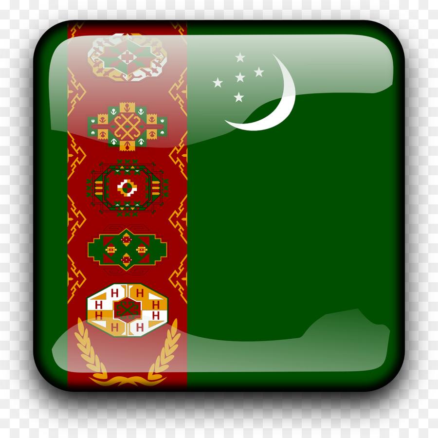 Descarga gratuita de Turkmenistán, Bandera De Turkmenistán, Bandera Imágen de Png