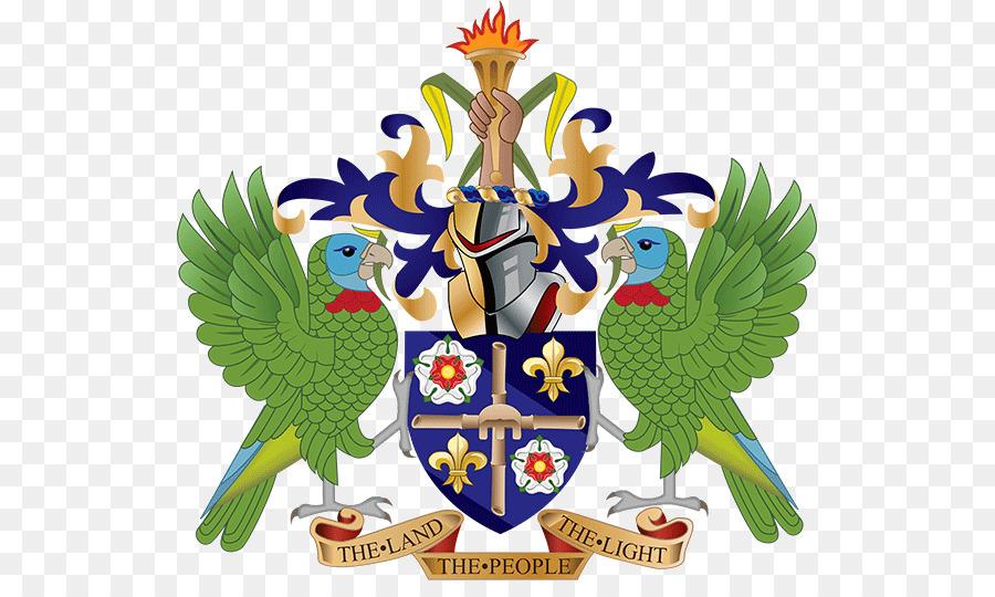 Descarga gratuita de La Geografía De Santa Lucía, Escudo De Armas De Santa Lucía, Los Símbolos Nacionales De Santa Lucía Imágen de Png