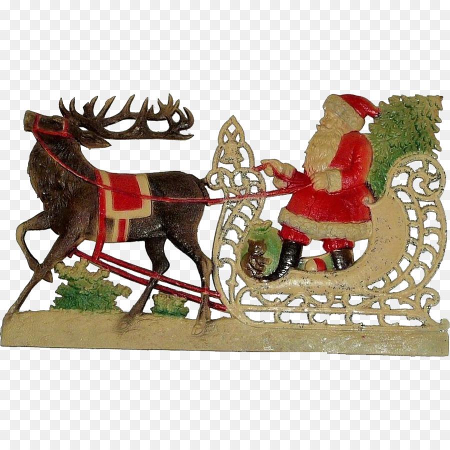Descarga gratuita de Santa Claus, Rudolph, Adorno De Navidad Imágen de Png