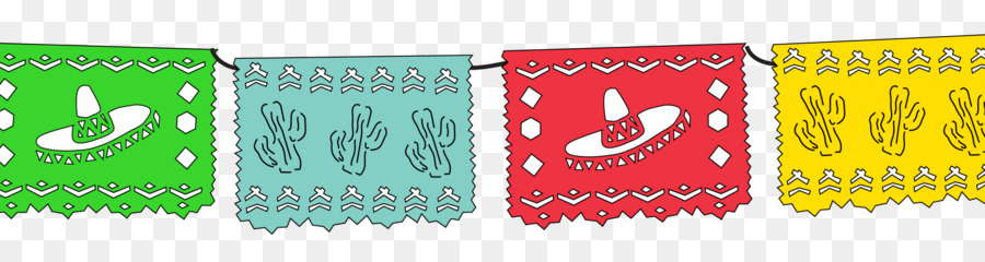 Papel Picado Banner Square Felt Vibrant Multi Colored Flower Panels Tissue Paper For Birthday Wedding Party Amazon In Home Kitchen