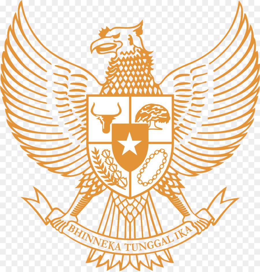 Descarga gratuita de El Emblema Nacional De Indonesia, Indonesia, Logotipo Imágen de Png
