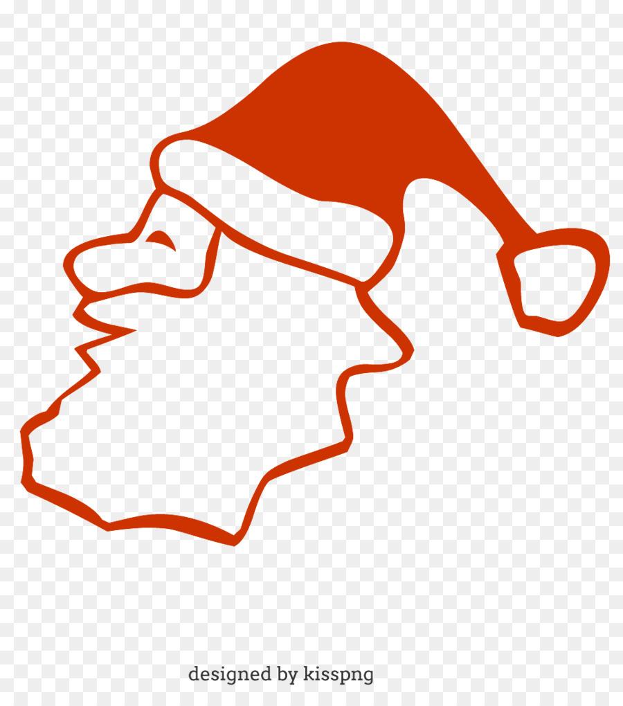 Santa Claus Navidad Para Colorear Libro Para Colorear Imagen Png