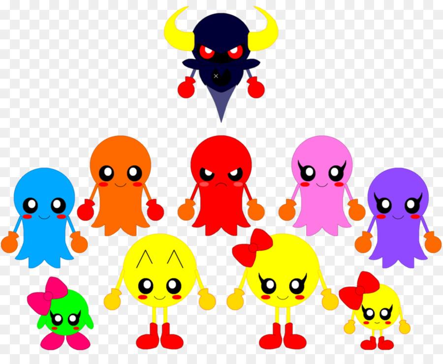 Descarga gratuita de Pacman, Ms Pacman, Baby Pacman imágenes PNG