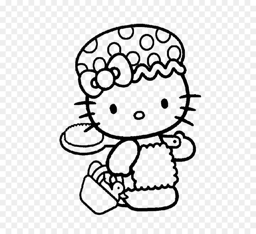 Hello Kitty Libro Para Colorear Mi Melodía Imagen Png Imagen