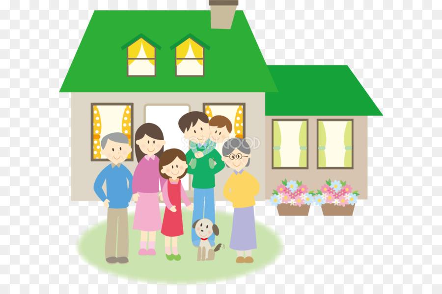 92 Koleksi Gambar Kartun Rumah Dan Keluarga HD