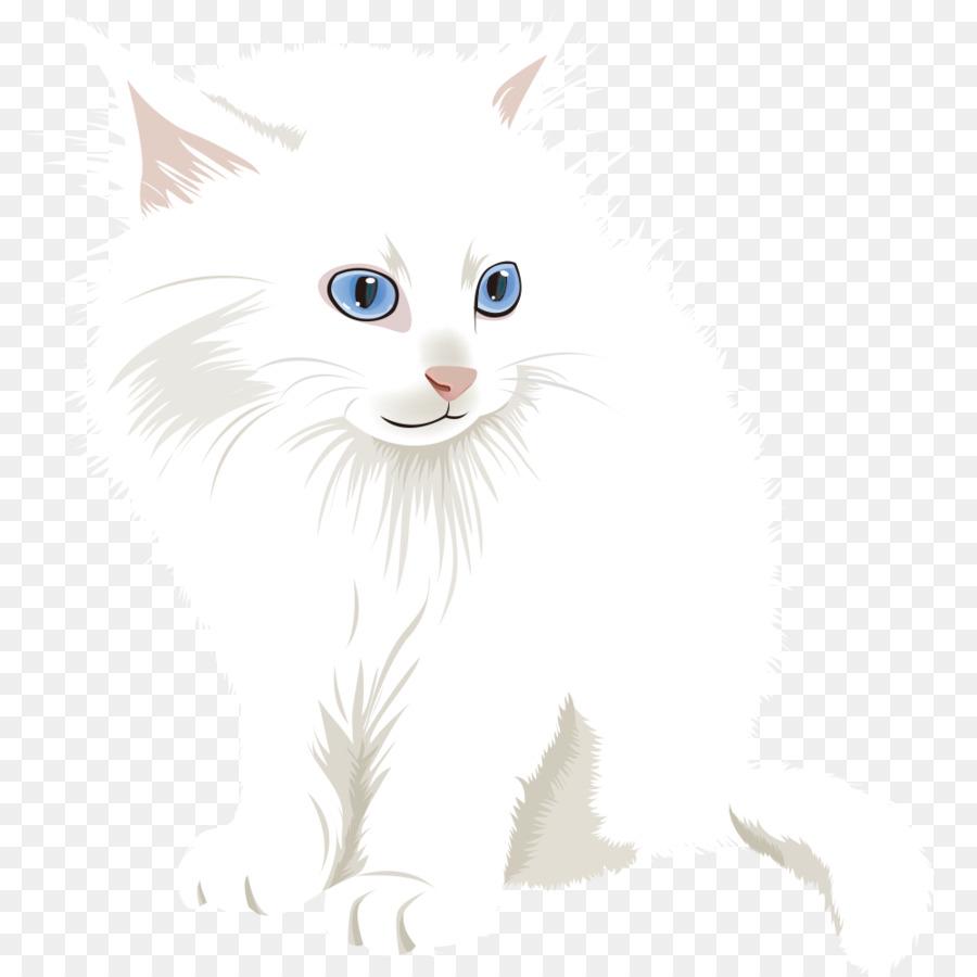 Descarga gratuita de Bigotes, Van Turco, Gato Doméstico De Pelo Corto imágenes PNG