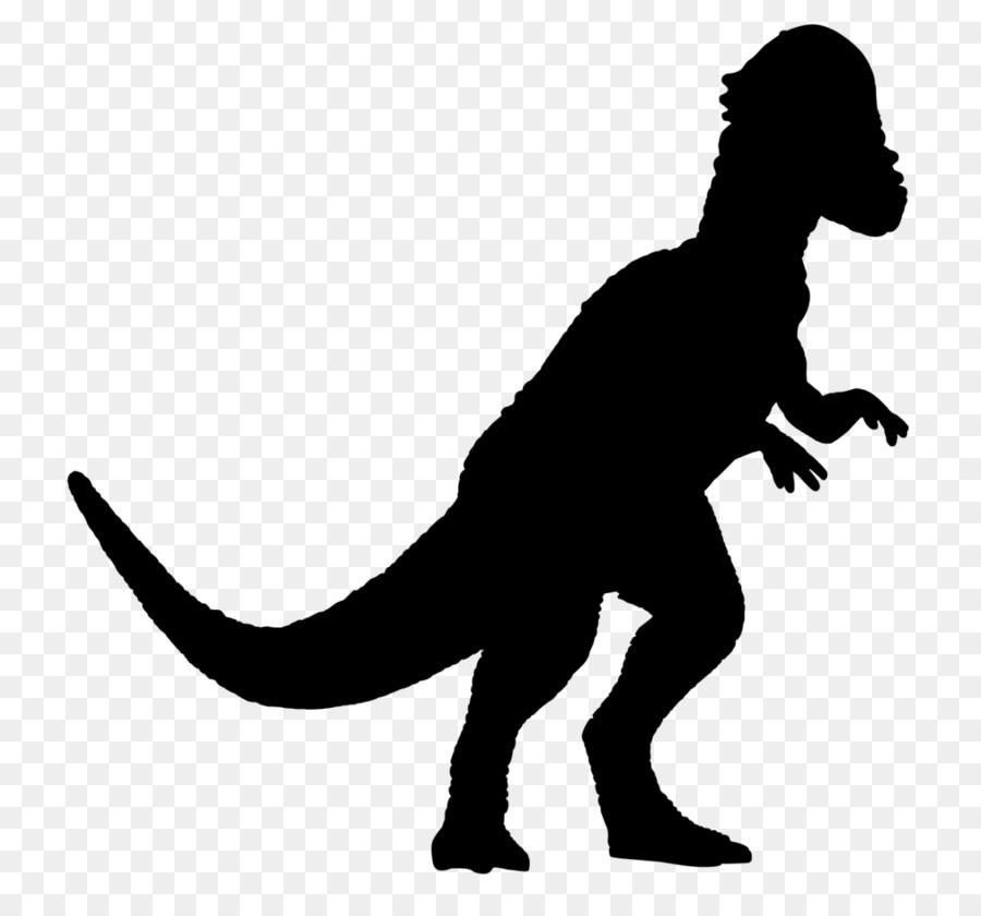Descarga gratuita de Tyrannosaurus, Silueta imágenes PNG