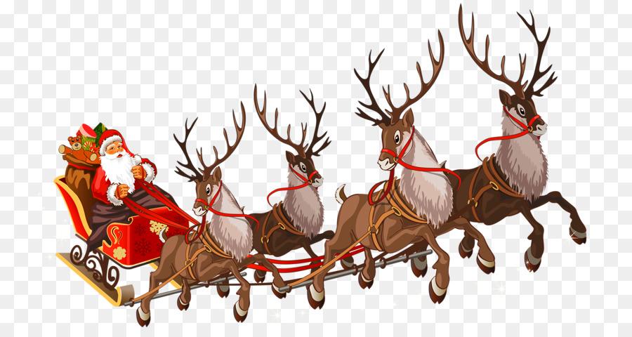 Descarga gratuita de Santa Claus, La Señora Claus, Rudolph Imágen de Png