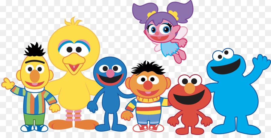 Descarga gratuita de Elmo, Big Bird, Personajes De Sesame Street imágenes PNG