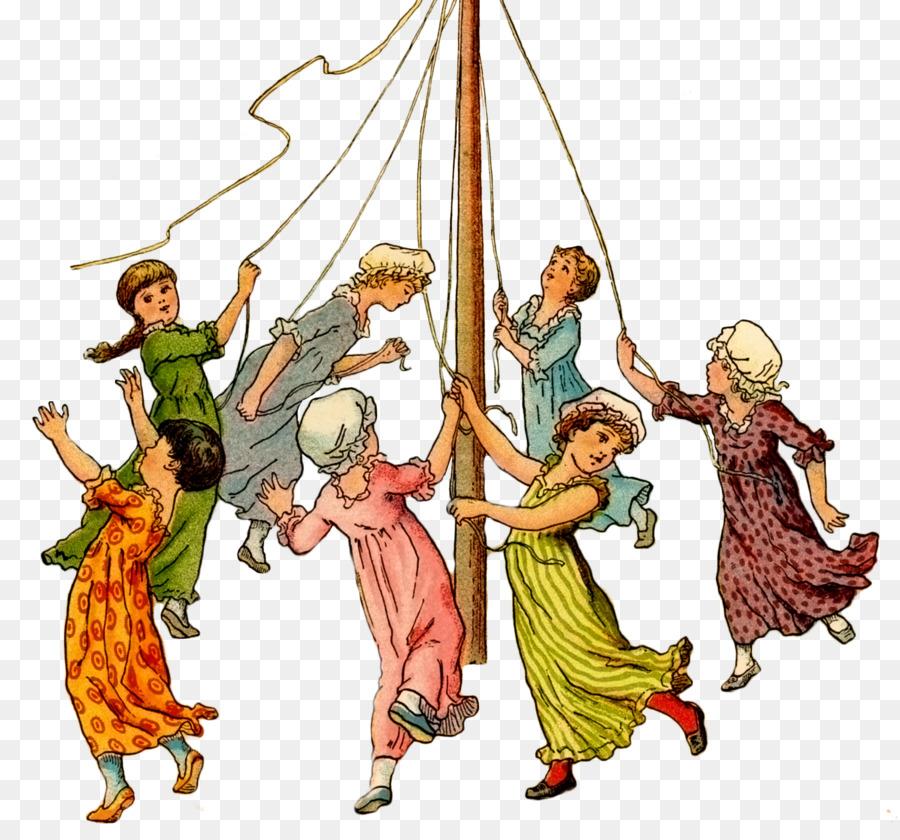 Descarga gratuita de El Palo De Mayo, La Danza, El Primer Día De Mayo Imágen de Png