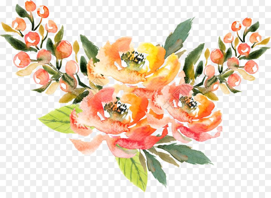 Descarga gratuita de Pintura A La Acuarela, Acuarela De Flores, Flor Imágen de Png