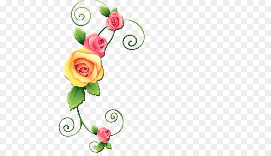 Descarga gratuita de Flor, Decorativos En Las Esquinas, Diseño Floral imágenes PNG
