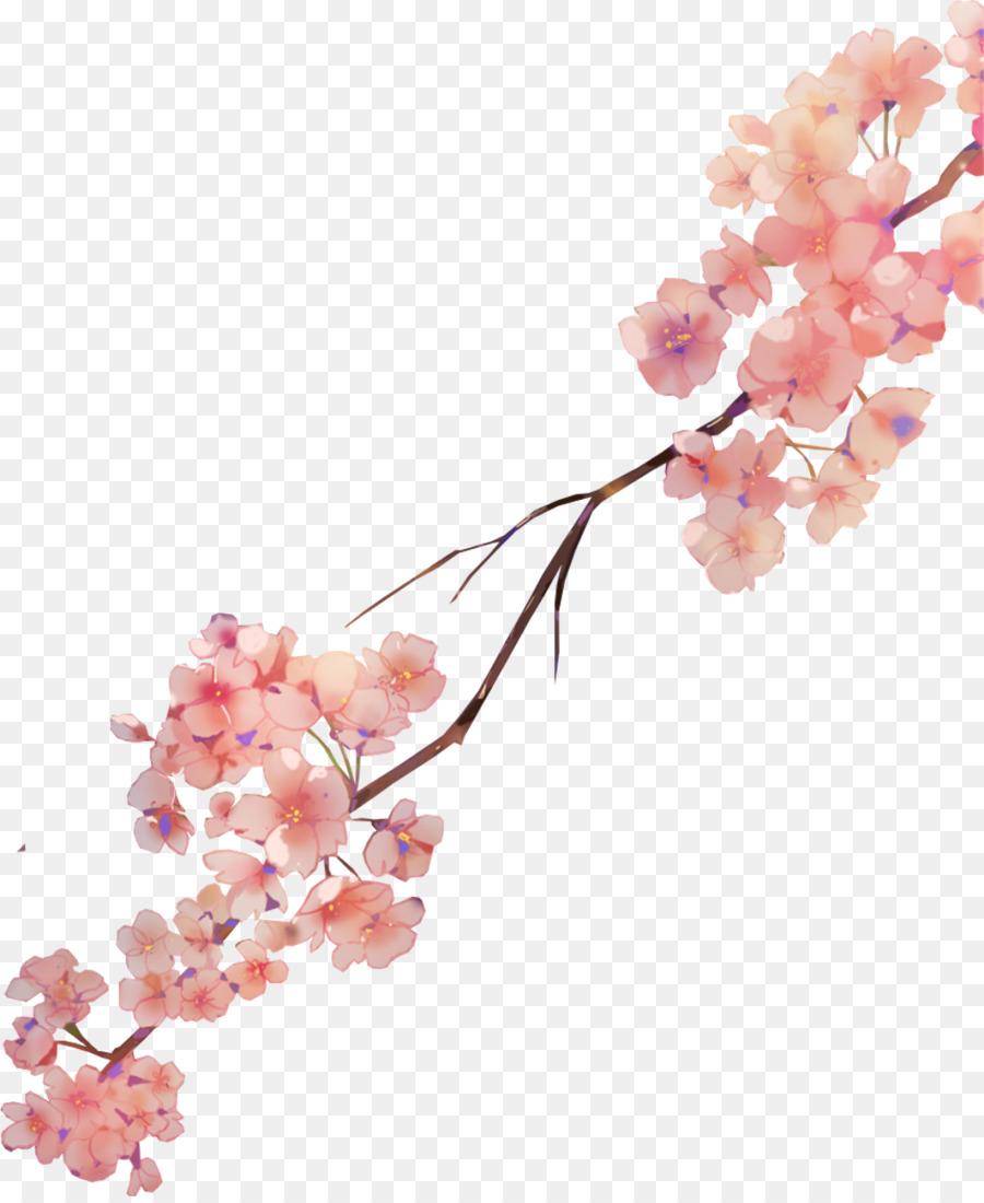 Descarga gratuita de De Los Cerezos En Flor, Pintura A La Acuarela, Flor imágenes PNG