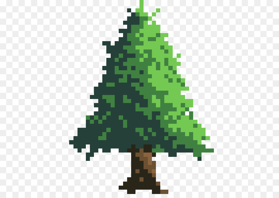 Descarga gratuita de árbol De Navidad, Pixel Art, Arte Digital Imágen de Png