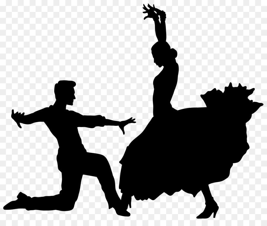 Descarga gratuita de La Danza, Silueta, Flamenco imágenes PNG