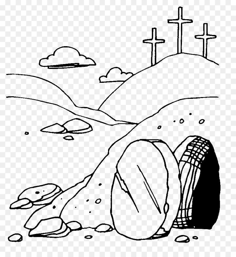 Tumba Vacía De La Tumba De Jesús La Resurrección De Jesús Imagen
