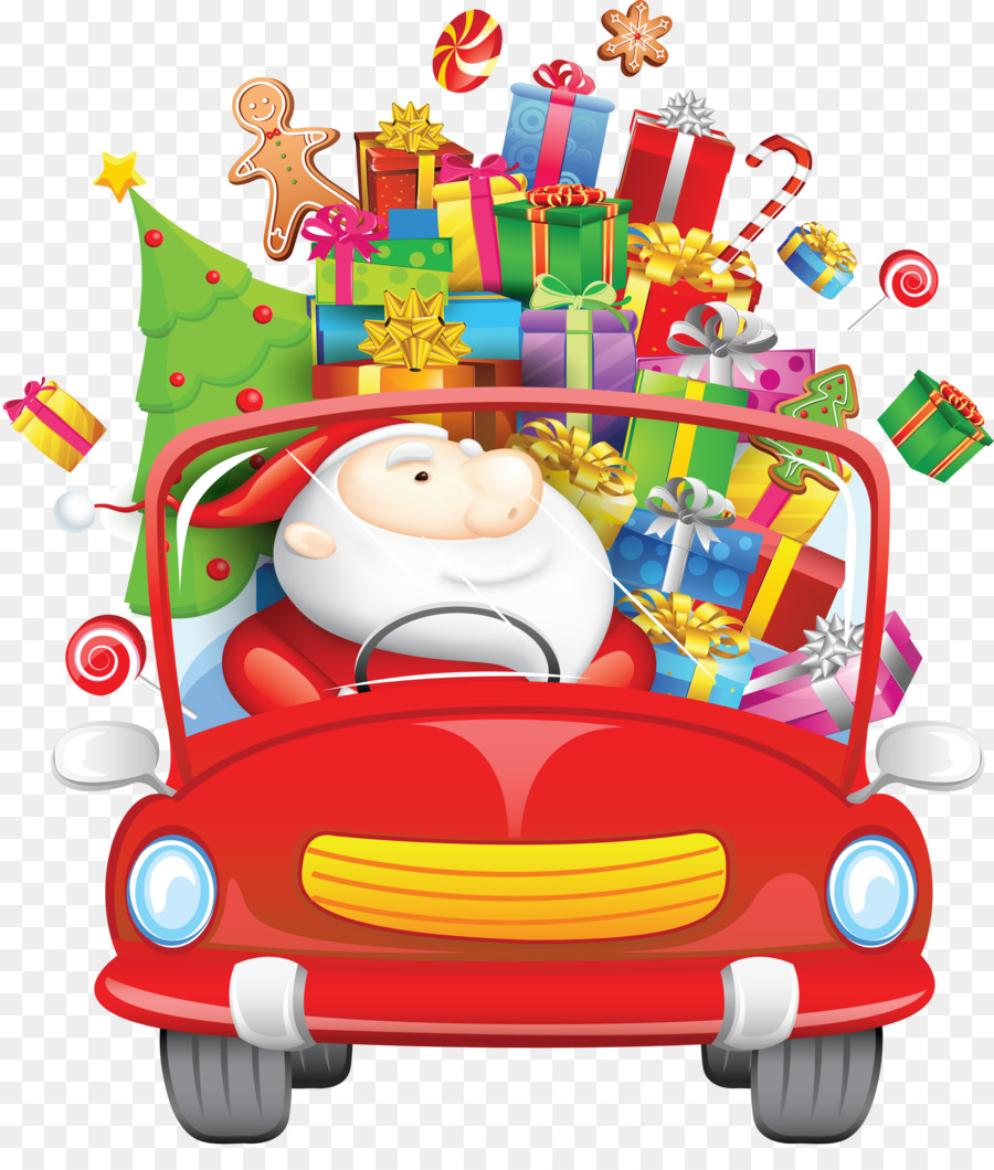 Descarga gratuita de Santa Claus, Christmas Day, Una Fotografía De Stock imágenes PNG