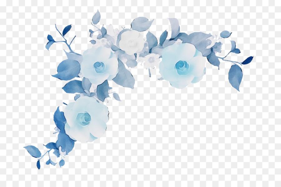 Descarga gratuita de Azul, Flor, Rosa Azul Imágen de Png
